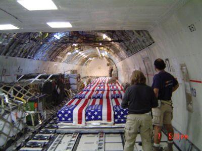 iraq coffins